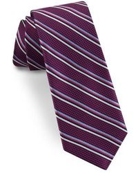 Ted Baker - Striped Silk Tie - Lyst