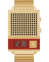 Nixon Dork Too All Gold Watch - Metallic