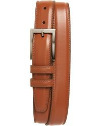 Torino Leather Company - Aniline Leather Belt - Lyst