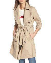 Madewell - Abroad Trench Coat - Lyst