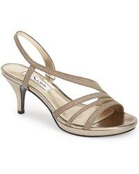 Nina - 'neely' Slingback Platform Sandal - Lyst