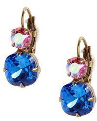 Sorrelli - Roundabout Crystal Drop Earrings - Lyst