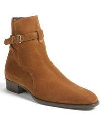Saint Laurent   Wyatt Boot   Lyst