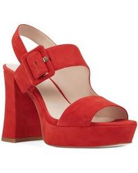 Nine West - Lexine - 40th Anniversary Capsule Collection Platform Sandal - Lyst