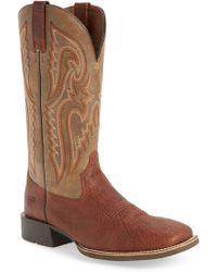 Ariat - Heritage Latigo Square Toe Cowboy Boot - Lyst