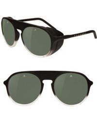 Vuarnet - Ice 51mm Polarized Sunglasses - Gradient Black / Grey Polar - Lyst