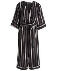 BISHOP AND YOUNG - Bishop + Young Stripe Romper - Lyst