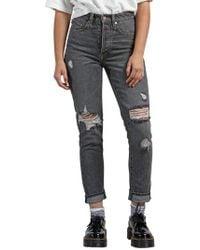 Volcom - Super Stoned Skinny Jeans - Lyst