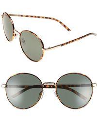 BP. 55mm Round Sunglasses - Metallic