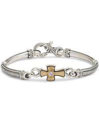 Konstantino Hermione Silver & Gold Bracelet - Metallic
