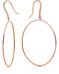 Lana Jewelry - Wire Bangle Hoop Earrings - Lyst