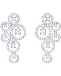 Swarovski - Creativity Drop Earrings - Lyst