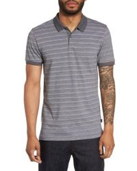 BOSS | Boss Phillipson Flame Slim Fit Polo | Lyst