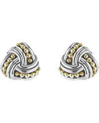 Lagos - Torsade Stud Earrings - Lyst