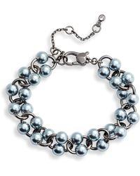 Kate Spade Nouveau Imitation Pearl Bracelet - Multicolor