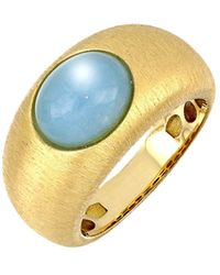 Bony Levy Iris Milky Aquamarine Wide Ring (nordstrom Exclusive) - Blue