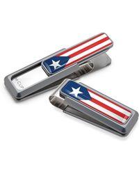 M-clip - M-clip Puerto Rican Flag Money Clip - Metallic - Lyst