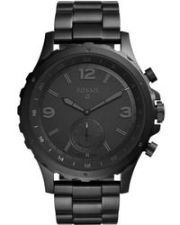 Fossil Q - Nate Bracelet Hybrid Smart Watch - Lyst