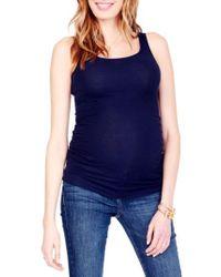 Ingrid & Isabel | Ingrid & Isabel Rib Knit Maternity Tank | Lyst