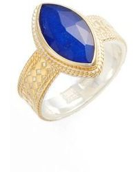 Anna Beck - Lapis Marquise Stone Ring - Lyst