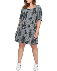 Michel Studio - Jacquard A-line Dress - Lyst