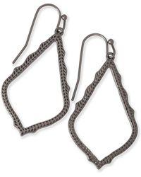 Kendra Scott 'mystic Bazaar - Sophee' Drop Earrings - Metallic