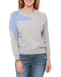 Wit & Wisdom Star Sweater - Gray