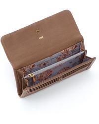 Hobo International Wonder Leather Wallet - Brown
