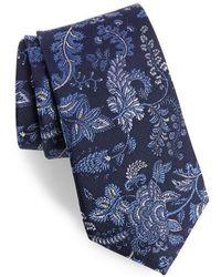 Calibrate - Trevis Floral Silk & Cotton Tie - Lyst