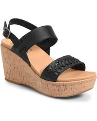 Kork-Ease - Austin Braid Wedge Sandal - Lyst