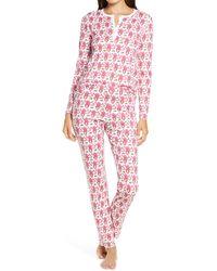 Roberta Roller Rabbit Monkey Pyjamas - Pink