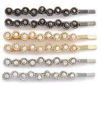 Tasha Sparkle Bobby Pins - Metallic