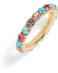 BaubleBar - X Micaela Erlanger Two To Tango Eternity Ring - Lyst