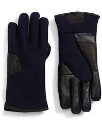 Ugg   Ugg Wool Blend Tech Gloves   Lyst