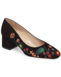 Ron White - Doreen Embroidered Water Resistant Pump - Lyst