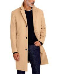 J.Crew Ludlow Wool & Cashmere Topcoat - Blue