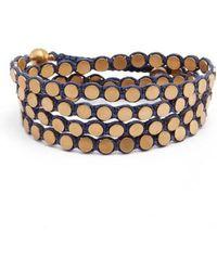 Serefina | Wrap Disk Bracelet | Lyst