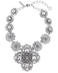 Oscar de la Renta - Jewel Collar Necklace - Lyst