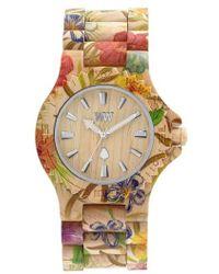 WeWood - Date Wood Bracelet Watch - Lyst