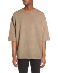 The Rail - Washed Terry Pullover - Lyst