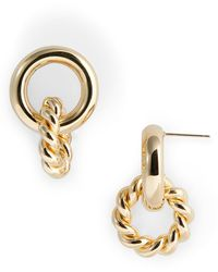 Laura Lombardi Duo Earrings - Metallic