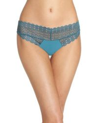 Honeydew Intimates - Lace Thong - Lyst
