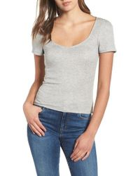 Project Social T - Femme Ribbed Tee - Lyst