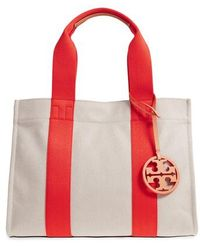 Tory Burch - Miller Canvas Tote - - Lyst