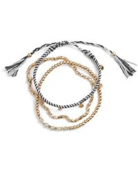 Treasure & Bond - Delicate Friendship Bracelet - Lyst