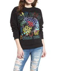True Religion - Embroidered Sweatshirt - Lyst