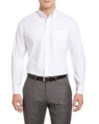 Nordstrom - Smartcare(tm) Trim Fit Solid Dress Shirt - Lyst