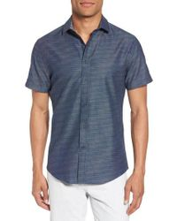 Vince Camuto - Slim Fit Sport Shirt - Lyst