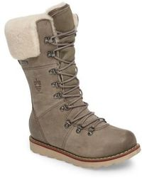 Royal Canadian | Louise Waterproof Snow Boot With Genuine Shearling Cuff | Lyst