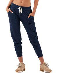 Vuori Pocket Performance Sweatpants - Blue